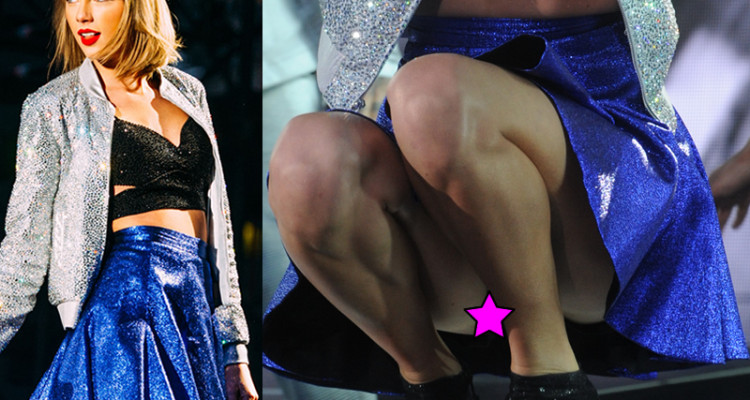 taylor swift upskirt