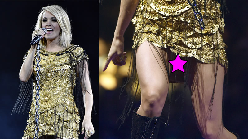Are Carrie underwood upskirt panties