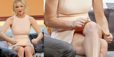 Jennifer Lawrence Upskirt – Wetten dass TV Show photos
