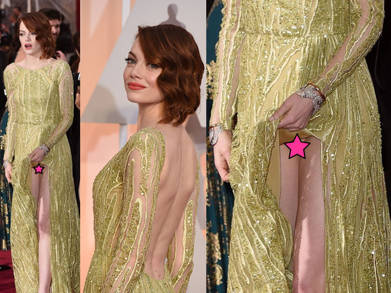 Something emma stone upskirt