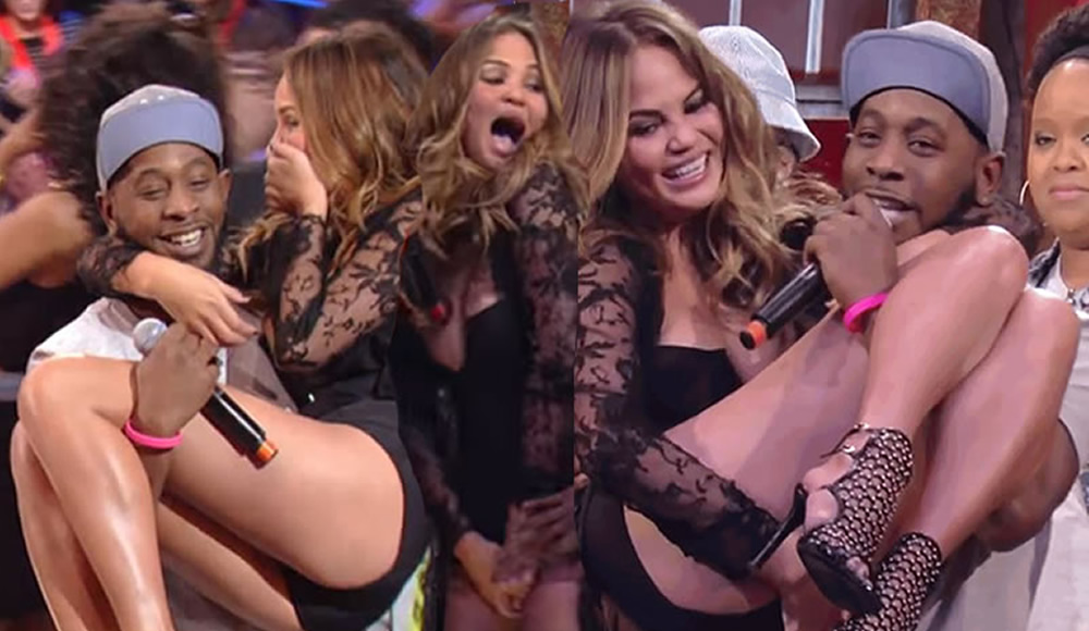 Chrissy Teigen's Camel Toe - Wild N Out