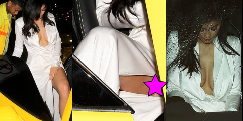Kylie Jenner Upskirt & Cleavage – Candids in West Hollywood