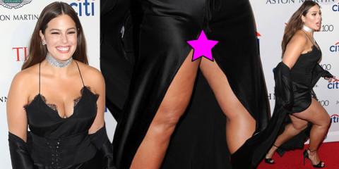 Ashley Graham Upskirt – Time 100 Gala in NYC 42517