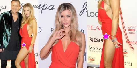 Joanna Krupa upskirt – charity auction for animals in Warsaw