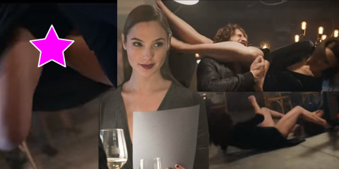 Gal Gadot Upskirt – Wix com Big Game First Spot