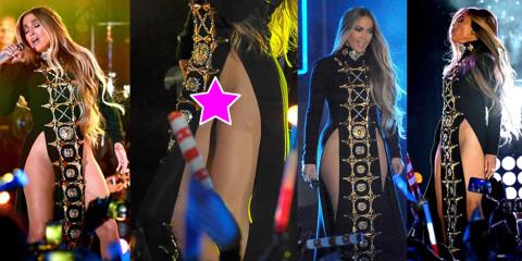 Jennifer Lopez Upskirt – 4Th Of July Concert in New Yok