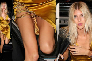 Devon Windsor upskirt - Love Magazine in London