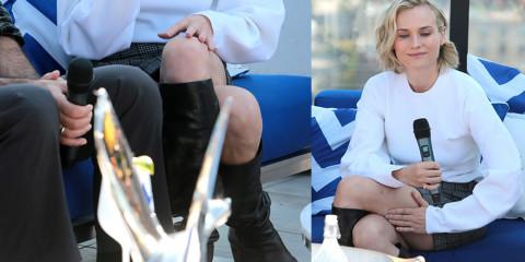 Diane Kruger Upskirt – 'In the Fade' Toronto Film Festival