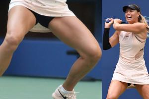 Maria Sharapova Upskirt - US Open, 08302017