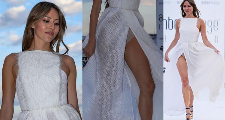 Jessica Michibata Upskirt - Amber Lounge Fashion Show in Monaco