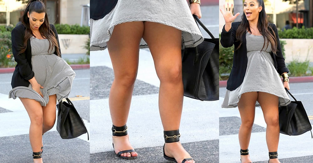 Kim Kardashian upskirt - Marilyn Monroe fill in the blank