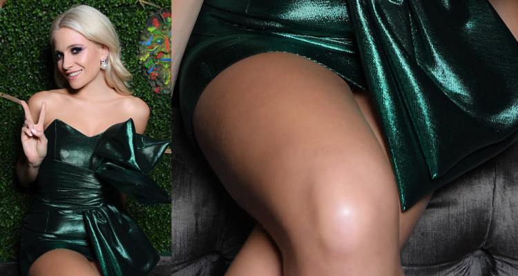 Pixie Lott Upskirt - Won't forget you Single Release Party in London  October 19