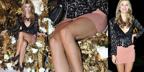 Rachel McCord Upskirt – Marajo Haircare Launch Party