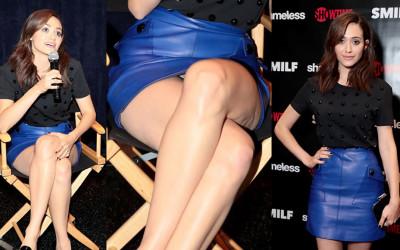 Emmy Rossum Upskirt – Shameless Fest in Los Angeles