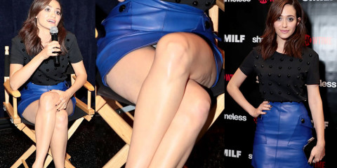 Emmy Rossum Upskirt – Shameless Fest in Los Angeles