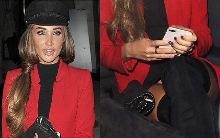 Megan McKenna Slight Panty Upskirt Photos