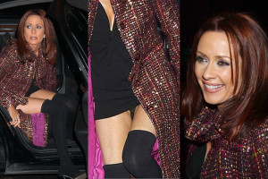 Patricia Heaton Upskirt - Goodbye Girl Screening