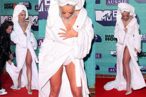 Rita Ora Upskirt - MTV Europe Music Awards in London