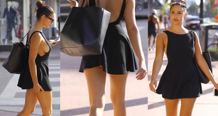 Tao Wickrath Upskirt - After getting breakfast in Miami, 11212017