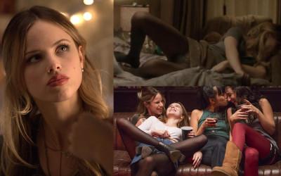 Halston Sage Upskirt – 'Before I Fall' Movie Scene