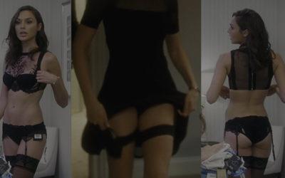 "Gal Gadot upskirt – ""Keeping Up with the Joneses"" Movie Scene"