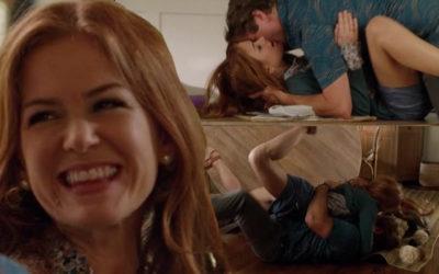 "Isla Fisher upskirt – ""Keeping Up with the Joneses Movie Scene"""
