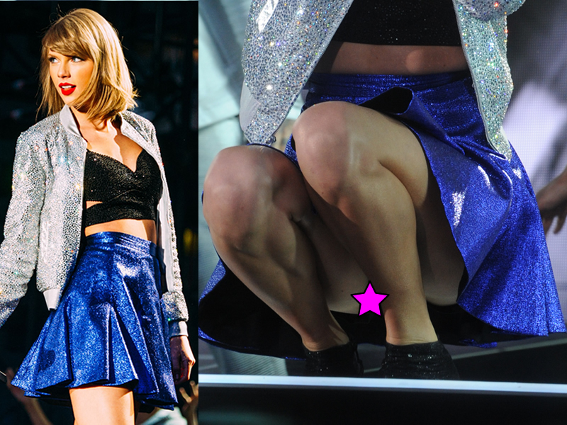 Pic taylor swift upskirt sorry, that