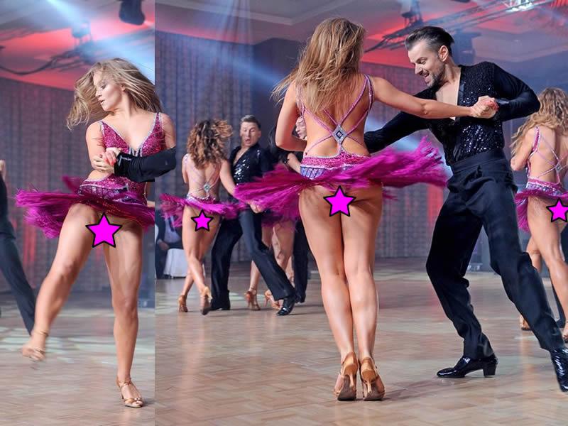 бальные танцы в эротических трусиках